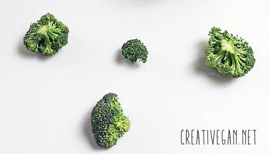 Floretes de brócoli