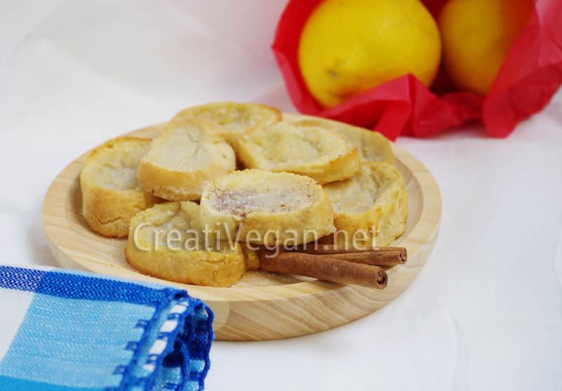 Torrijas light (veganas)