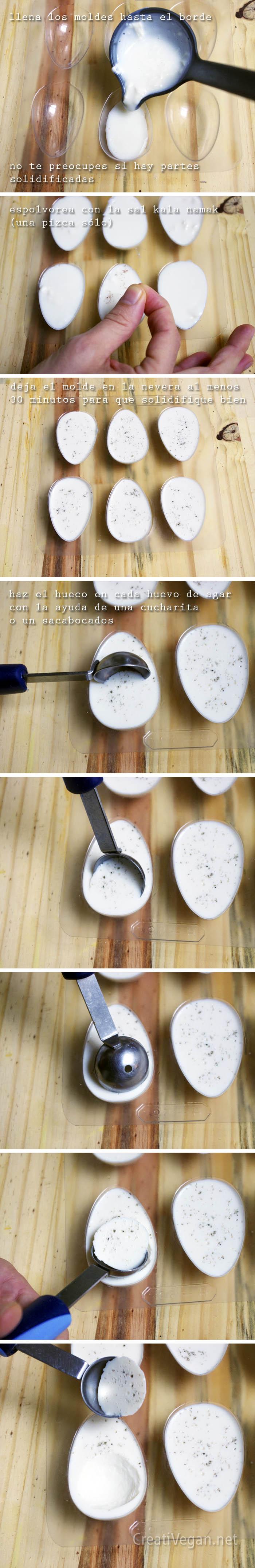 Tutorial: cómo hacer huevos veganos