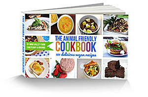 The Animal Friendly Cookbook: 101 delicious Vegan Recipes