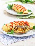 Omurice (tortilla con arroz)